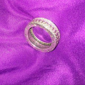 Forever stud pandora ring